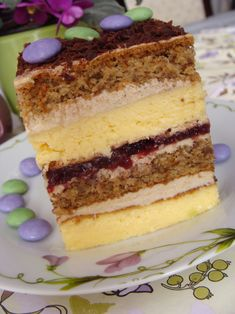 Polish Desserts, Polish Recipes, Mini Cakes, Cupcake Cakes, Russian Recipes, Christmas Baking, Cake Cookies, Yummy Cakes, Amazing Cakes
