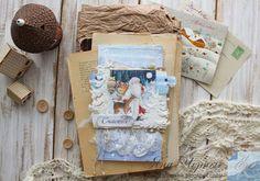 My scrap: ♥Открытка- Снежные лапы♥