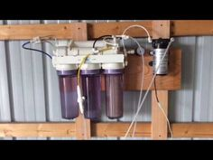 How to clean RO reverse osmosis membranes for small scale hobby maple syrup Best Water Filter, Drinking Water Filter, Water Filter Pitcher, Water Filters, Homemade Maple Syrup, Best Faucet, Water Filter Cartridge, Reverse Osmosis System, Sugaring