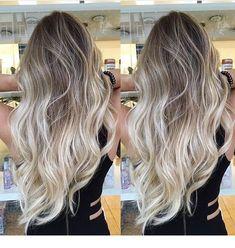New hair summer long haircuts 27 Ideas – Balayage Hair Styles Hair Color 2017, Ombre Hair Color, Hair Color Balayage, Blonde Color, Hair Highlights, Blonde Balayage Long Hair, Balyage Long Hair, Summer Highlights, Blonde Hair Dyes