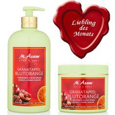 Liebling des Monats: Granatapfel Blutorange Pflegeserie von M. Asam