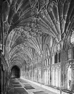 Gloucester Cathedral - The Cloisters -   Fine Art Photography by Steve Gledhill