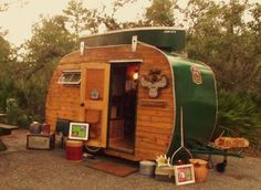 Fabulous old camper!!!!!
