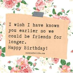 74 Best Birthday Quotes And Wishes For Friends - Our Mindful Life 61 Best Birthday - Mother Birthday Quotes, 30th Birthday Quotes, Happy Birthday Quotes For Friends, Happy Birthday Typography, Birthday Quotes For Best Friend, Wishes For Friends, Happy Birthday Fun, Happy Birthday Messages, Birthday Ideas