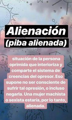 Alienación Alienada Aclaro que esta publicación fue sacada de @cuestionessociales en Instagram