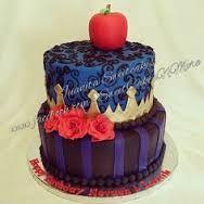 Resultado de imagen para tortas decoradas de descendientes de disney
