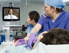 Telemedicine/Telenursing allows nurses to reach clients, team members anywhere and at anytime.