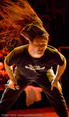"""George """"Corpsegrinder"""" Fisher from Cannibal Corpse"""