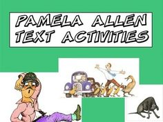 9 activities to use with a range of Pamela Allen texts. Includes:text type sortingcut up sentenceseditingcharacter mind maps for Waddle Waddle Giggle Garglestory mapswhat i know about narratives mind map Teaching Activities, Teaching Ideas, Potato People, Text Types, Mind Maps, Author Studies, Year 2, Children's Literature, Grade 1