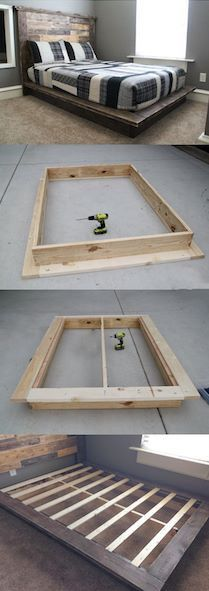 Do it yourself bed frame!
