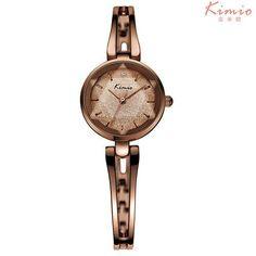 2017 New HOT Kimio Women's watches Quartz bracelet wristwatches women ladies dress watch luxury Relogio Feminino with Gift Box