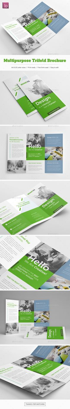 Multipurposel Trifold Brochure