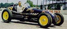 Lee Wallard winner of the 1951 Indianapolis 500.