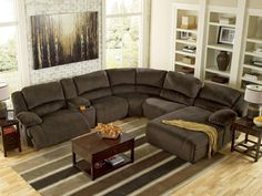 Living Room- Ashley- toletta chocolate-56701