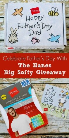 Need a great Father's Day gift for dad? Enter to win the Hanes Big Softy Giveaway!