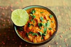 Norbert gives you his healthy and easy recipe for making a dhal, Coconut Lentil Recipe, Lentil Recipes, Veggie Recipes, Wine Recipes, Col Kale, Dhal Recipe, Pasta Integral, Crispy Sweet Potato, Scones Ingredients