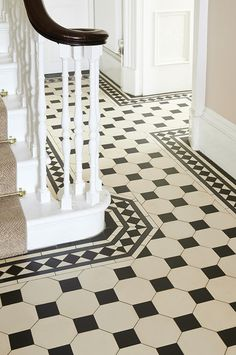 Victorian Floor Tiles by Original Style. Quintessentially British, these geometr. Victorian Floor Tiles by Original Style. Quintessentially British, these geometric floor tiles are Entryway Flooring, Hall Flooring, Flooring Shops, Farmhouse Flooring, Linoleum Flooring, Terrazzo Flooring, Cork Flooring, Brick Flooring, Rubber Flooring