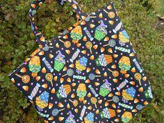 Flour Sack Mama: Homemade Trick-or-Treat Bag