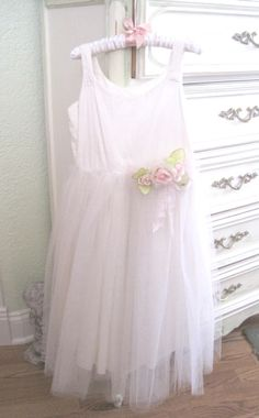 Vintage tulle dress - pinned from The Porcelain Rose