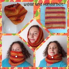 Aktiv, Crochet Necklace, Crochet Hats, Fashion, Wool, Handarbeit, Knitting Hats, Moda, Crochet Collar
