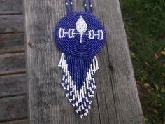 Iroquois Confederacy  necklace,native american beadwork by deancouchie on Etsy