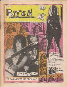 "nirvananews  "" Punk Rock fanzine  Bitch  issue featuring Joan Jett c228cd25fec"