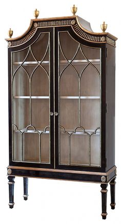 Saville Cabinet Traditional, Transitional, Glass, Armoire by Ebanista Cabinet Furniture, Find Furniture, Antique Furniture, Painted Furniture, Home Furniture, Furniture Design, Muebles Art Deco, Interior Decorating, Interior Design