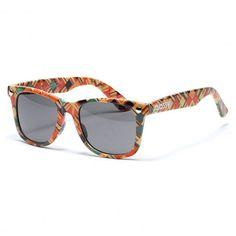 Glassy Haroshi lunettes de soleil artwork wrap recycled skateboard sunglasses