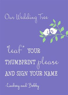 Our thumbprint tree - Ward Ward Groh Woodsy Wedding, Tree Wedding, Our Wedding, Wedding Venues, Wedding Ideas, Candle On The Water, Thumbprint Tree, Megan Ward, Year Of Dates
