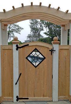 Beautiful handmade custom garden furniture, garden gates & garden fence