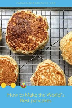 Life isn't complete without pancakes. They're a Canadian classic and showcase some of our very best ingredients from our spectacular flour to dairy eggs and flax or hemp hearts. No Dairy Recipes, Fruit Recipes, Egg Recipes, Vegetarian Recipes, Potato Recipes, Bison Recipes, Turkey Recipes, Pork Recipes, Chicken Recipes