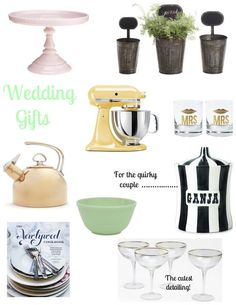 Great Wedding Gifts on Pinterest Wedding gifts, Second weddings ...