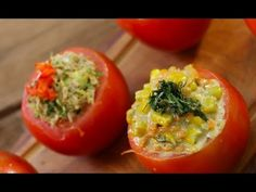 Vitamix Recipes, Stuffed Peppers, Fruit, Vegetables, Food, Youtube, Gastronomia, Salads, Dressings