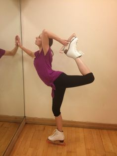 Can you really improve flexibility as an adult? Figure skating as an adult. From http://noexcusesinskating.blogspot.co.uk