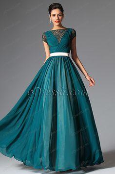 eDressit 2014 New Cap Sleeves Evening Dress Prom Ball Gown (02149305)