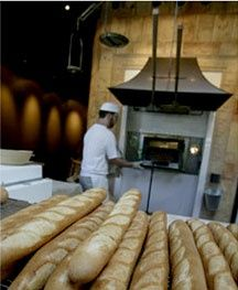 St. Honore Boulangerie, delicious french pastries, sandwiches, salads, etc... everything is fabulously rich!