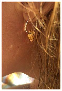 Handmade Jewelry, Sea, Earrings, Fashion, Ear Rings, Moda, Stud Earrings, Fashion Styles, Ocean