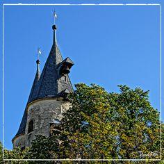 Impressionen aus Goslar - In der Altstadt: Turm der Jakobikirche.    Impressions from Goslar.