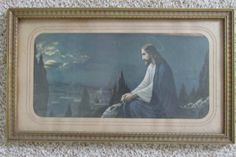 Picture of Jesus Gazing On City by LuRuUniques on Etsy