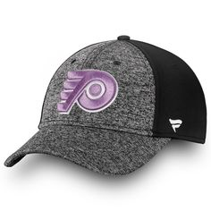 innovative design 16a69 28d94 Men s Philadelphia Flyers Fanatics Branded Black White 2018 Hockey Fights  Cancer Speed Flex Hat, Your Price   29.99