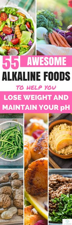Foods You Should Eat On an Alkaline Diet #alkalinediet