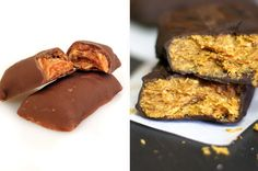Butterfingers - click to view homemade, 'healthier' variations of candy classics. Just in time for Halloween!