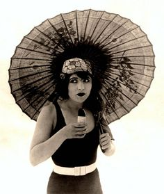 1920s bathing beauty
