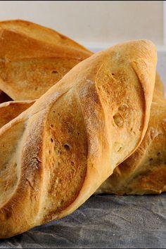 Homemade Crusty French Bread Recipe