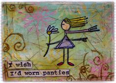 Beeswax ATC with Stampotique stamps!