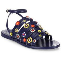 Leather MARGUERITE Sandals Spring/summer Tory Burch 6QZakH