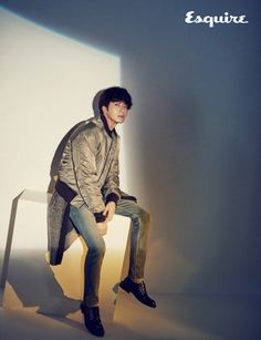 Jung Il Woo is a romantic fall gentleman for 'Esquire' | allkpop.com