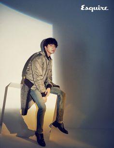 Jung Il Woo is a romantic fall gentleman for 'Esquire'   allkpop.com
