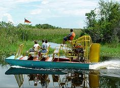 airboat in the Florida Everglades-DONE!!! April 2016