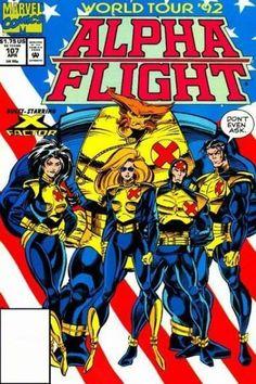 marvel alpha flight - Google Search